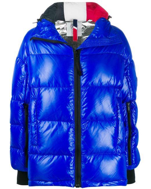 Rossignol オーバーサイズ パデッドジャケット Blue