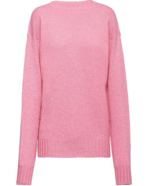 Prada カシミア セーター Pink