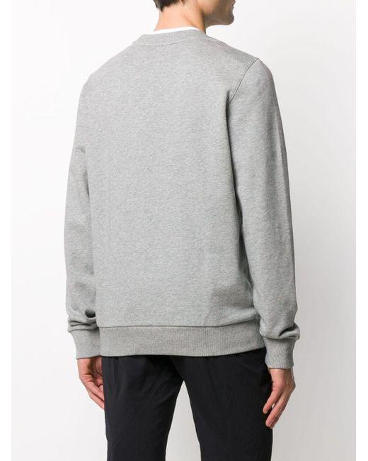 メンズ Calvin Klein ロゴ スウェットシャツ Gray