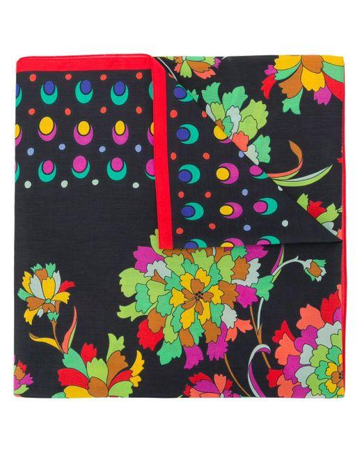 LaDoubleJ フローラル スカーフ Multicolor