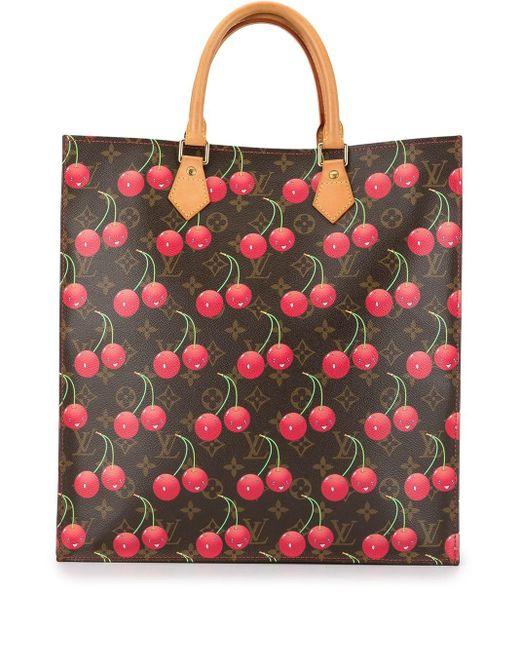 Сумка-тоут Sac Plat С Монограммой Pre-owned Louis Vuitton, цвет: Brown