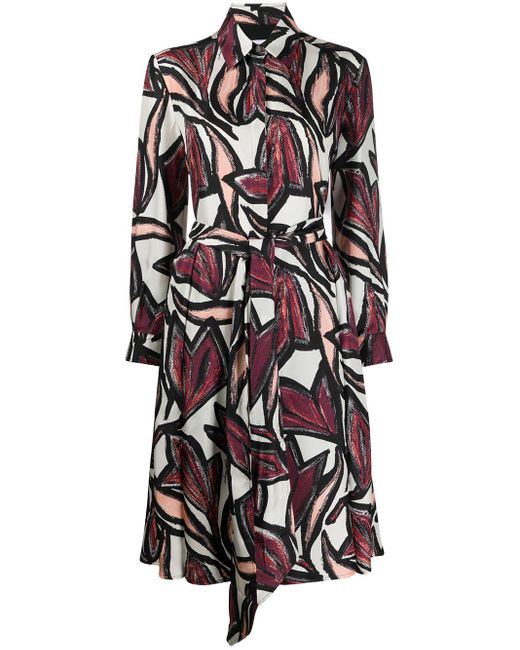 Ferragamo フローラルプリント ドレス Multicolor
