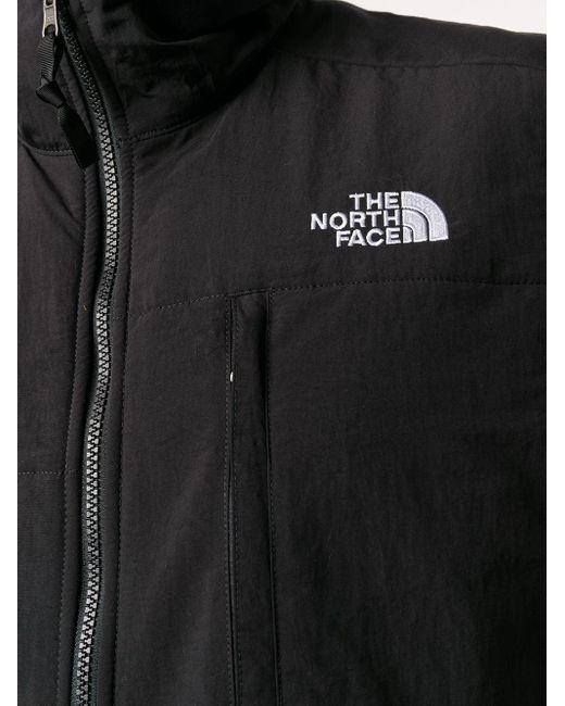 メンズ The North Face ロゴ ジレ Black