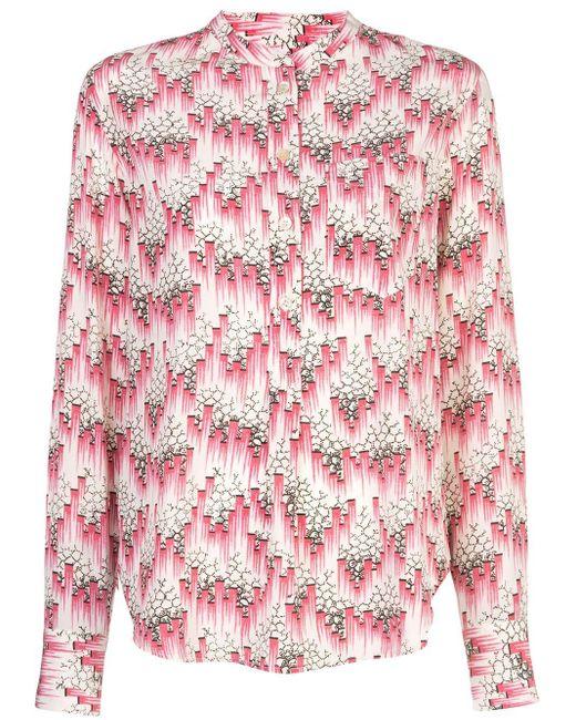 Isabel Marant プリント ボタンシャツ Pink