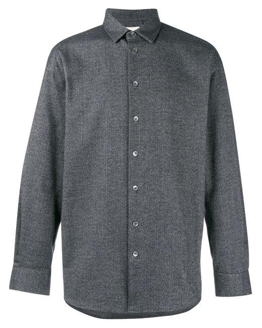 メンズ Stephan Schneider オーバーサイズ シャツ Gray
