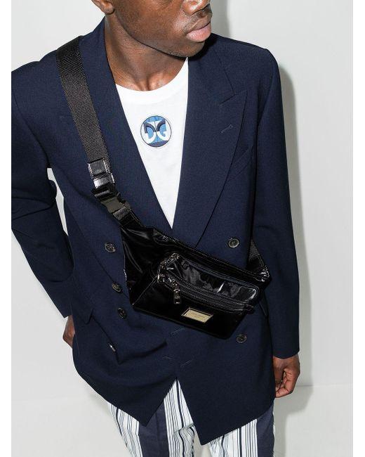 Поясная Сумка Nero Sicilia Dolce & Gabbana для него, цвет: Black