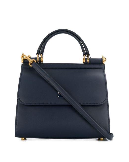 Dolce & Gabbana Sicily 58 ハンドバッグ Blue