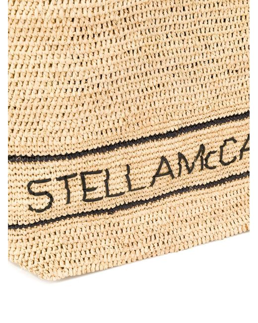 Объемная Сумка-тоут Stella McCartney, цвет: Multicolor