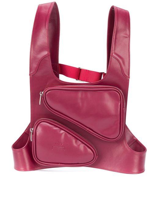 メンズ A_COLD_WALL* ポケット ハーネス バッグ Pink