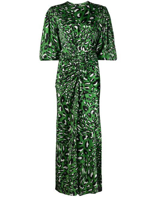Alexandre Vauthier アブストラクトパターン ドレス Green
