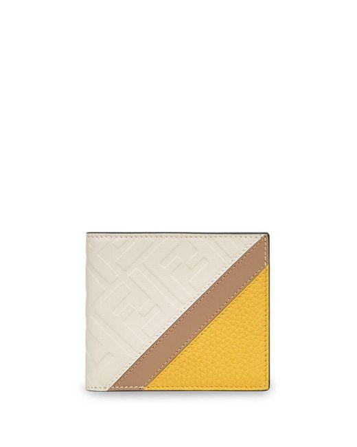 メンズ Fendi モノグラム財布 Multicolor
