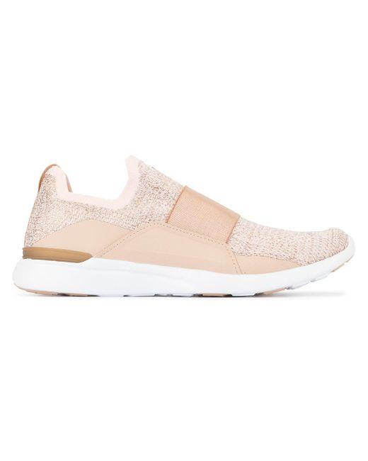 APL Shoes Zapatillas TechLoom Bliss de mujer de color rosa