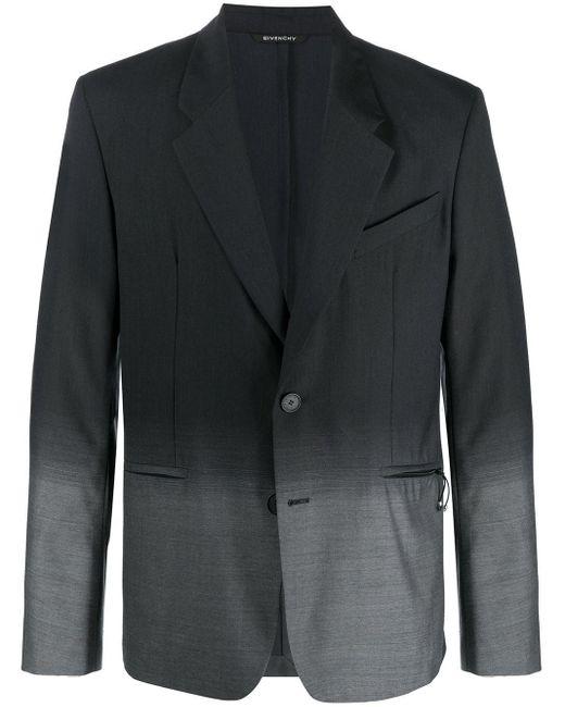 Однобортный Пиджак С Эффектом Градиента Givenchy для него, цвет: Black