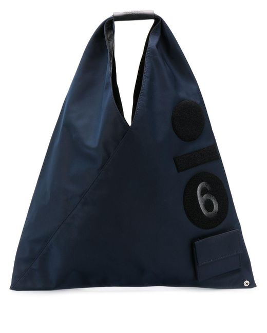 MM6 by Maison Martin Margiela ショッパートートバッグ Blue