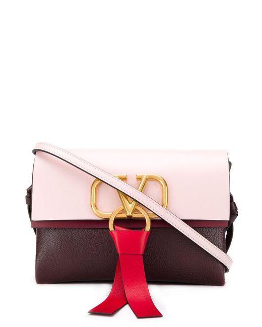 Valentino Garavani ロゴ ハンドバッグ Pink
