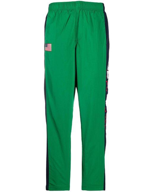 Polo Ralph Lauren カラーブロック トラックパンツ Green
