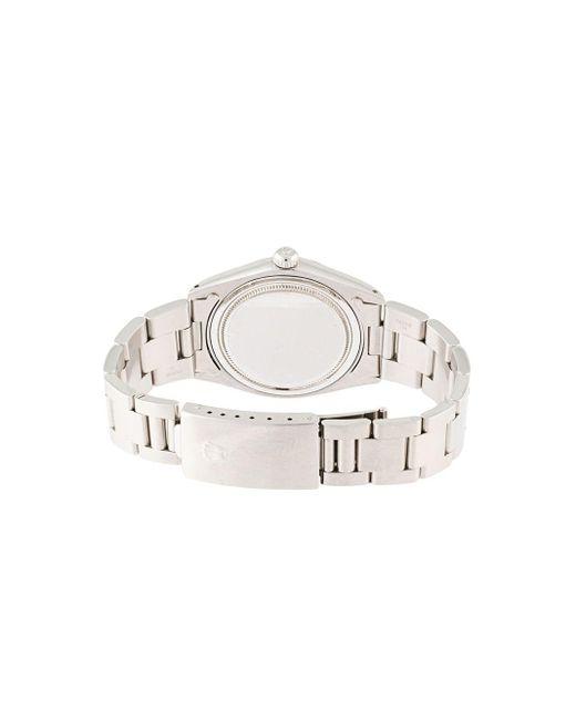 Наручные Часы Oyster Date Pre-owned 32 Мм Rolex для него, цвет: Metallic