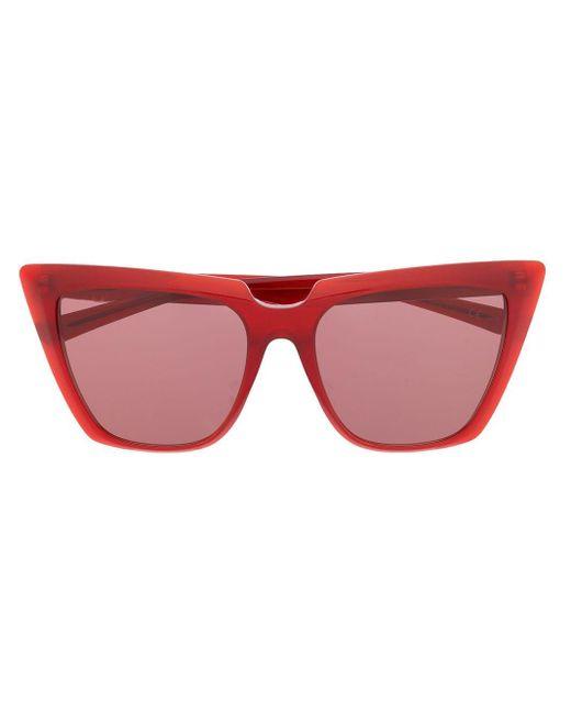 Balenciaga Tip Cat サングラス Red