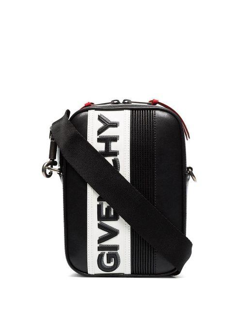 メンズ Givenchy Mc3 リバース ショルダーバッグ Black