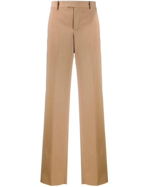 Bottega Veneta Multicolor Wide-leg Tailored Trousers