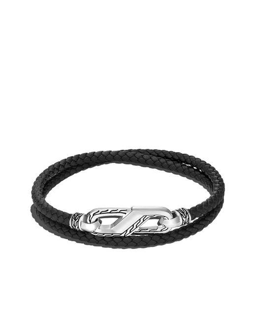Браслет Classic Chain В Несколько Оборотов John Hardy для него, цвет: Black