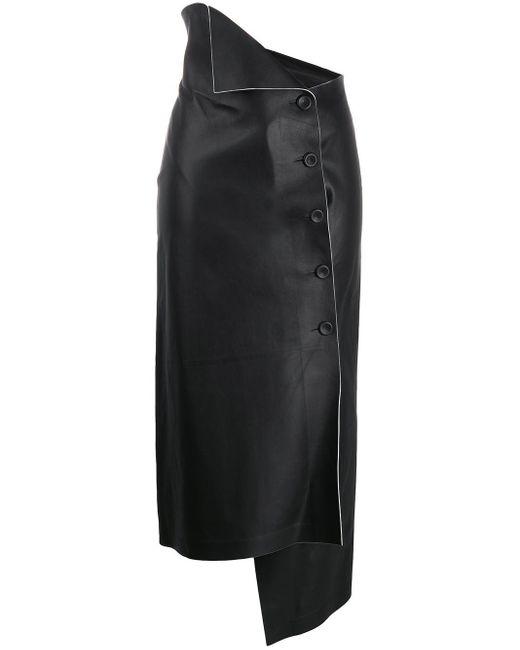 The Row Verna ラップスカート Black