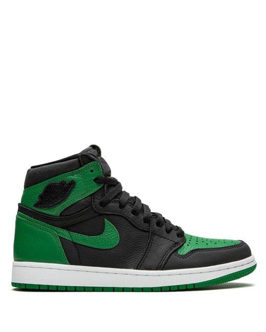 メンズ Nike Air 1 Retro High スニーカー Green
