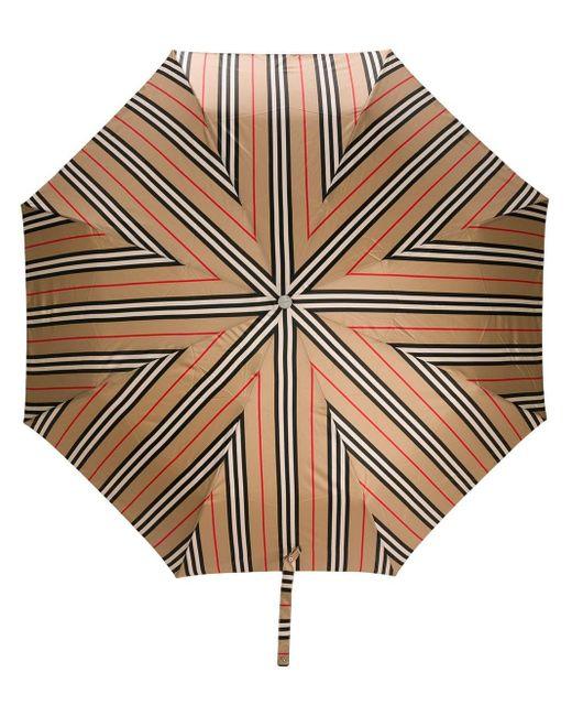 Burberry アイコンストライプ 折り畳み傘 Multicolor