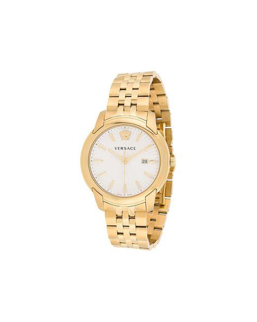 メンズ Versace V-urban 腕時計 Metallic
