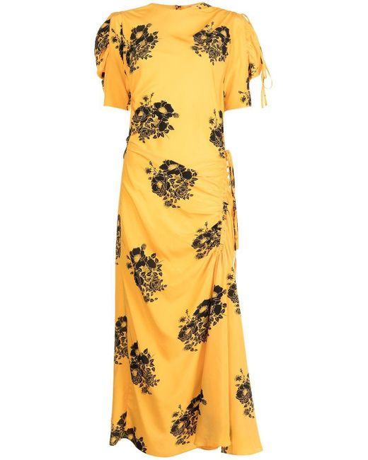 N°21 フローラル ドレス Yellow