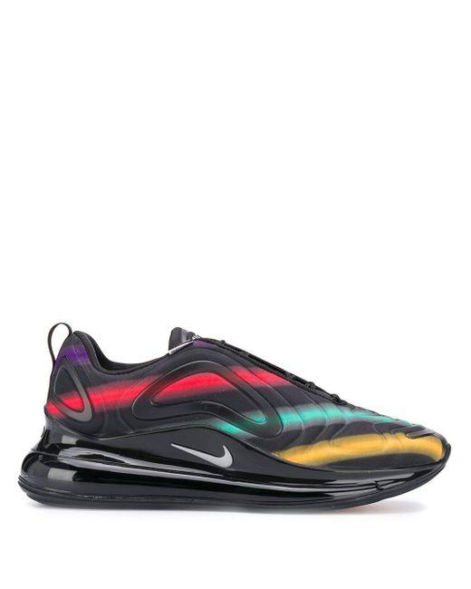 Nike Air Max 720 - Schwarze Sneaker mit Print in Black für Herren