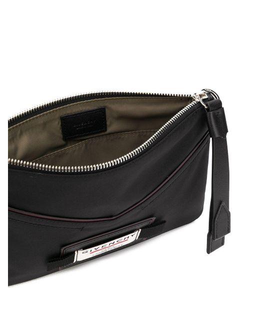 Маленький Клатч На Молнии Givenchy для него, цвет: Black