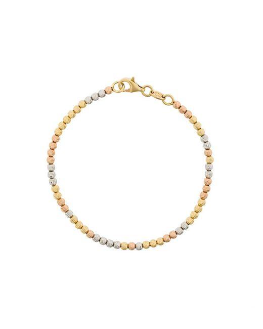 Carolina Bucci Metallic 18kt White, Yellow And Rose Gold Disco Ball Bracelet