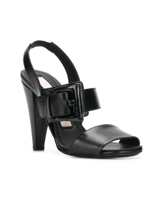 statement buckle high-heel sandals - Black N°21 ZeQiMpCM
