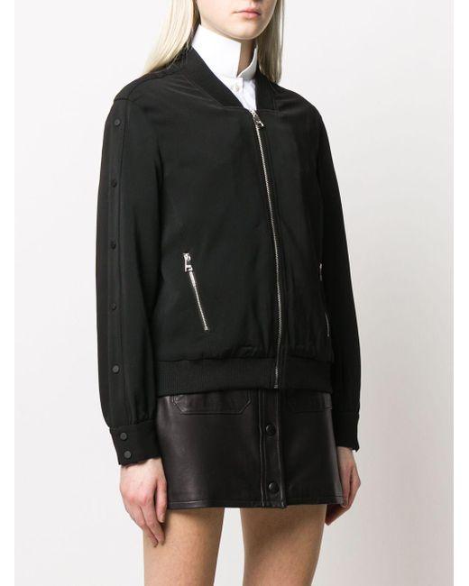 Karl Lagerfeld ボンバージャケット Black