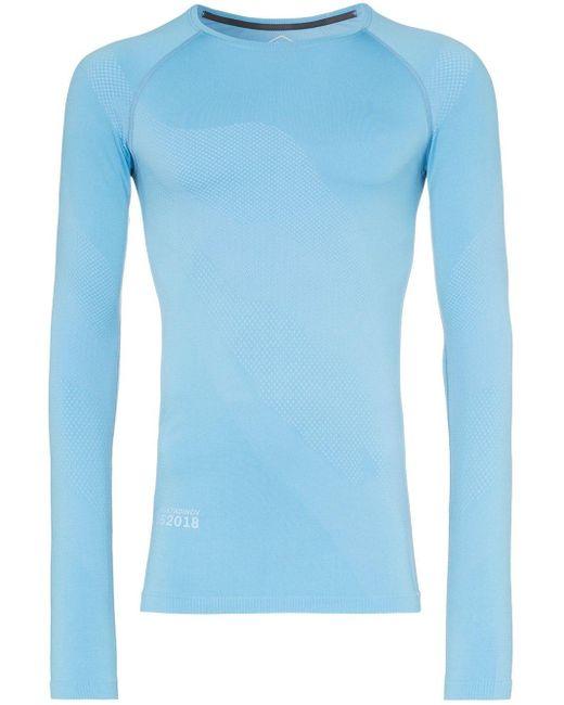 メンズ Asics X Kiko ロングtシャツ Blue