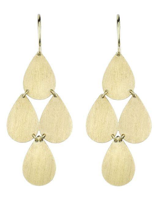 Irene Neuwirth 18kt Yellow Gold Four Drop Earrings
