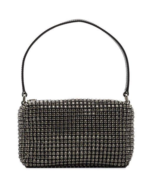 Мини-сумка Heiress Со Стразами Alexander Wang, цвет: Black
