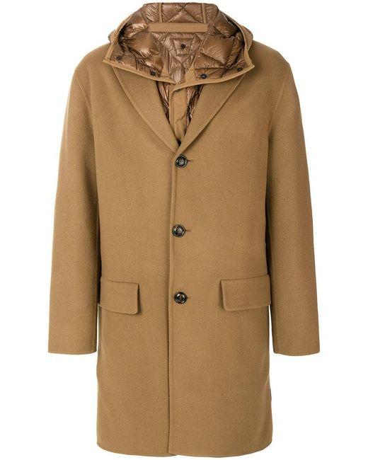 Moncler | Brown Tierce Coat for Men | Lyst