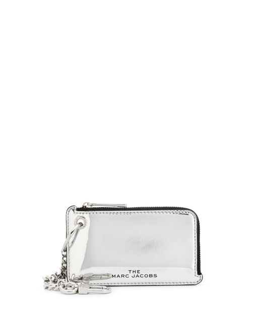Marc Jacobs Metallic The Snapshot Mirrored Coin Purse