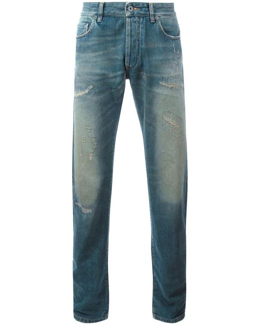 Outlet Order No Evil jeans - Blue Natural Selection 100% Authentic Online Limited Clearance 2018 Newest Cheap Shop v4eXx1