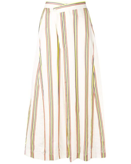Henrik Vibskov Pound Trousers Natural