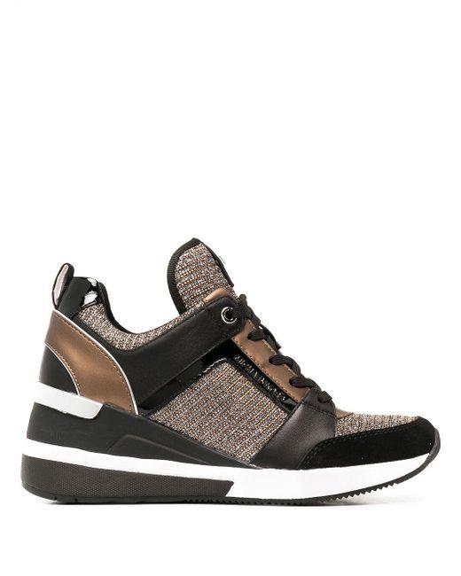 MICHAEL Michael Kors Black Sneakers mit Wedge-Absatz
