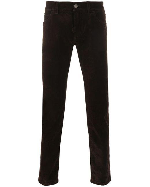 メンズ Dolce & Gabbana スリムパンツ Black