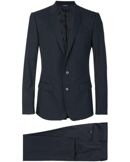 Dolce & Gabbana Black Classic Suit for men