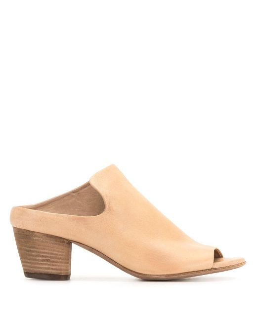 Officine Creative Natural Adele Leather Mules