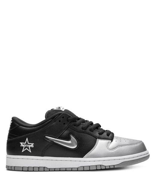 Nike X Supreme 'sb Dunk Low' スニーカー Black