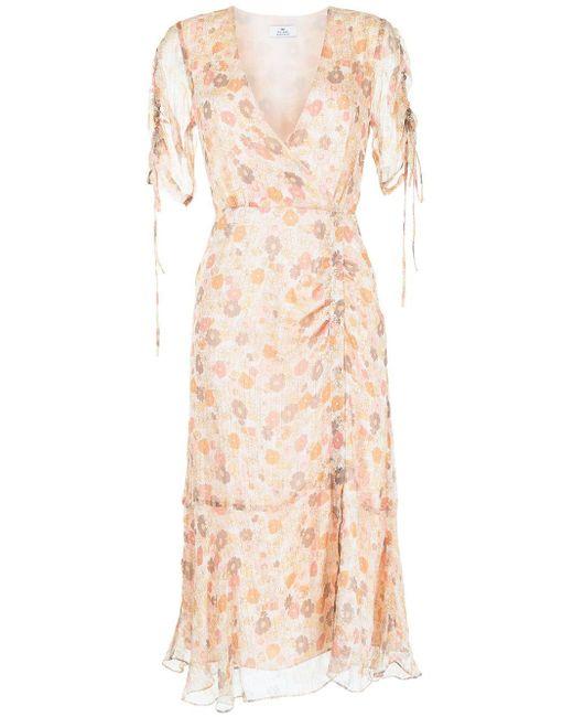 We Are Kindred Multicolor Gisela Daisy-print Wrap Dress