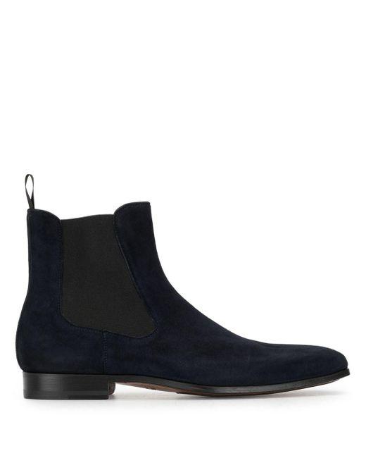 メンズ Magnanni Shoes スエード チェルシーブーツ Blue