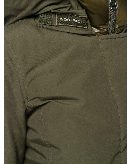 Пальто С Потайной Застежкой Woolrich, цвет: Green